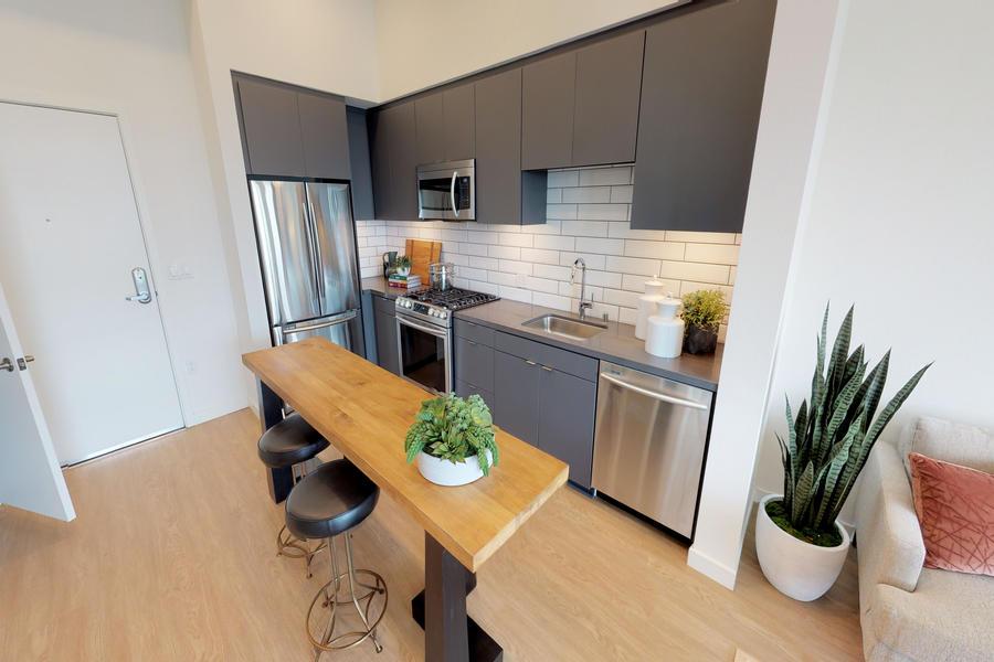 Oceanaire Apartments kitchen