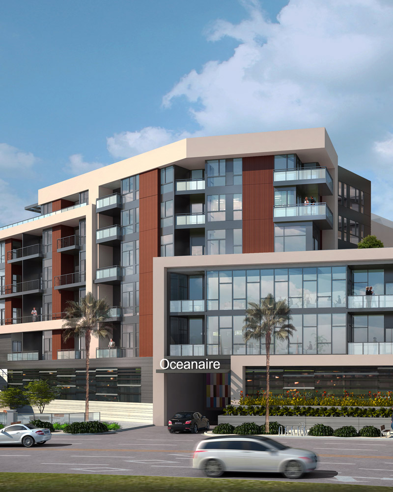 Oceanaire Apartments building overview